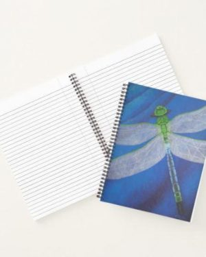 Notebook - Resilience - Dragonfly Notebook Of Acrylic Painting Fine Art